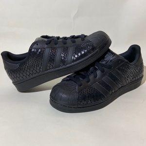 Adidas Originals Superstar Black Snakeskin